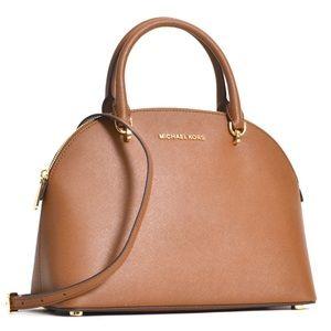 Michael Kors Dome Satchel Crossbody Handbag Purse